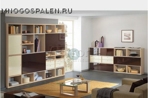 Гостиная Freestyle F115 Астрон купить в салоне-студии мебели Барселона mnogospalen.ru много спален мебель Италии классические современные