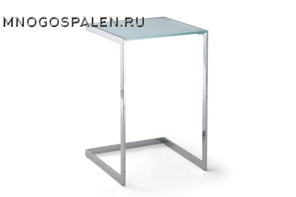 Дизайнерский журнальный стол Tower стекло купить в салоне-студии мебели Барселона mnogospalen.ru много спален мебель Италии классические современные