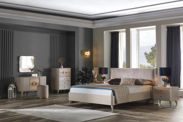 Спальня Sanvito купить в салоне-студии мебели Барселона mnogospalen.ru много спален мебель Италии классические современные