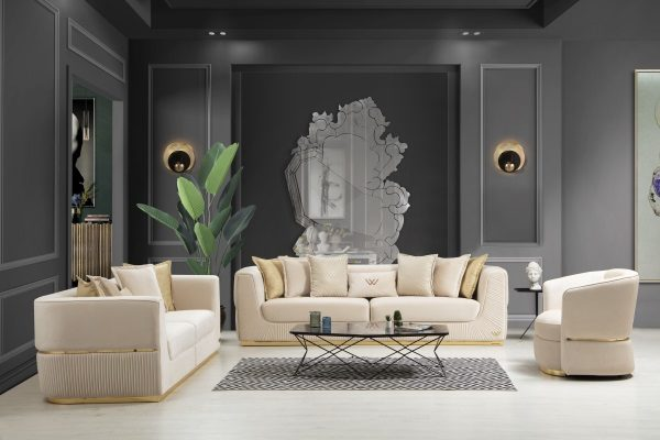 Диван 3-местный Lorenzo W купить в салоне-студии мебели Барселона mnogospalen.ru много спален мебель Италии классические современные